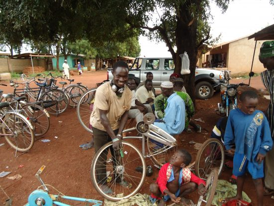 Expanding bicycle repair business