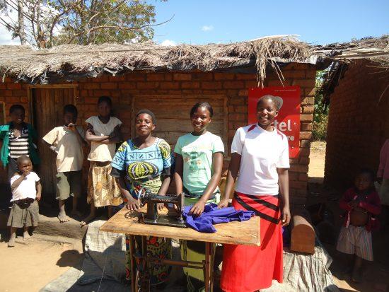 Joyce Msonchi, Georgina Mwali & Margaret Kampangi