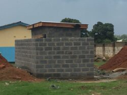 New pit latrine block for Dambo Combined school children